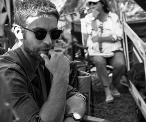 black and white, boy, and Chace Crawford image