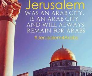 arab, Jerusalem, and palestine image