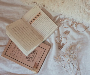 book, soft, and vintage image