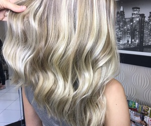 hair, hairblonde, and blonde image