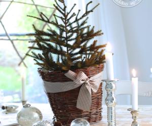 bow, christmas tree, and holiday image