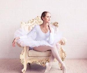 ballerina, elegant, and fitness image