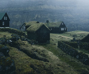 dark, faroe islands, and photography image
