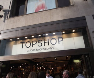 city, shopping, and Top Shop image