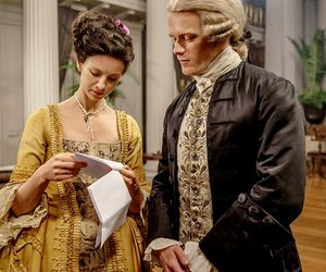 series, outlander, and claire fraser image