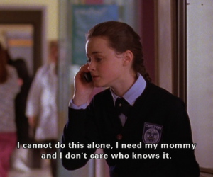 gilmore girls, funny, and rory image