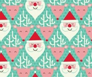 christmas, santa, and wallpaper image