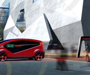 fisker, self-governing shuttle, and smart-cities image