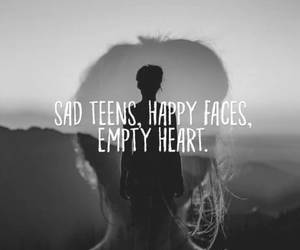feeling, quotes, and teenage image