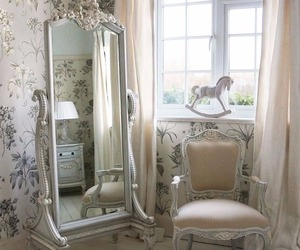 bedroom, vintage, and my style shabby chic image