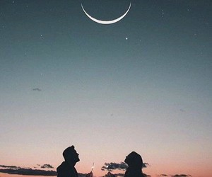 moon, foreverandalways, and love image