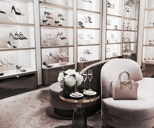 shoes, luxury, and flowers image