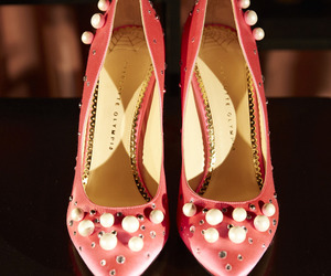 charlotte olympia, pearls, and embellished image