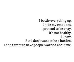 quotes, emotions, and sad image