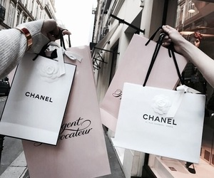 chanel, shopping, and luxury image