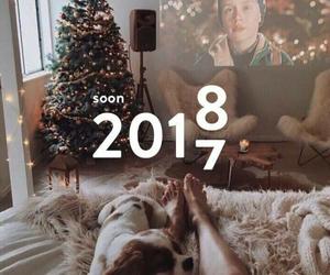 christmas, new year, and 2017♡2o18. image
