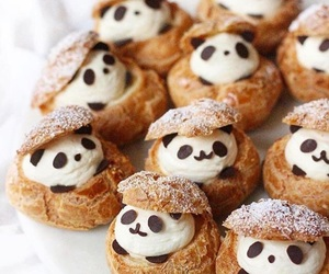 food, panda, and cute image