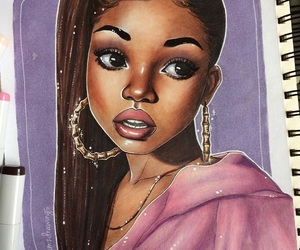 art, barbie, and movies image