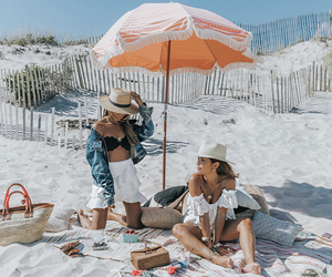beach, blogger, and style image