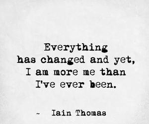 am, change, and i image