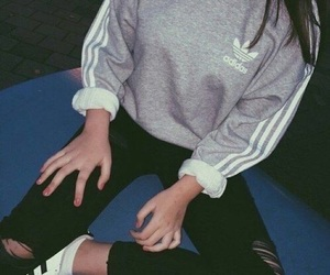 adidas, sport, and love image