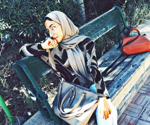 fashion, hijab, and university image