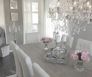 decoration, dinning room, and style image