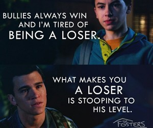 bully, loser, and tv show image
