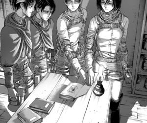 attack on titan, manga, and shingeki no kyojin image