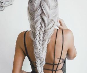 braided, girly, and braids image