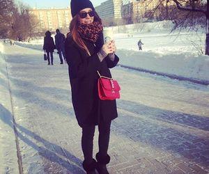 fashion, moda, and snow image