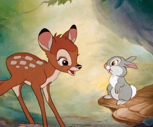 bambi, disney, and rabbit image