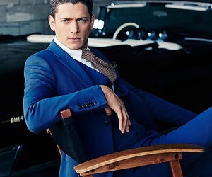 Hot, suit, and wentworth miller image
