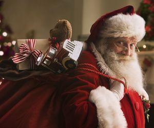 christmas, santa, and holiday image