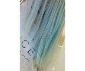 bluehair, cool, and extreme image