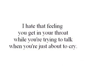 sad, cry, and quotes image