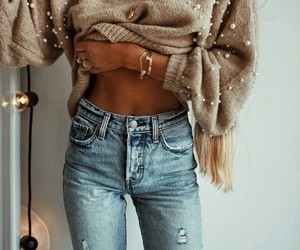 autunm, grunge, and jeans image