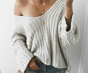 shorts, summer, and sweater image