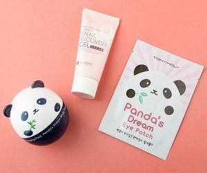 panda, moisturizer, and tonymoly image