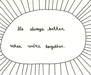 text, better, and together image