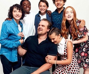 tv show, netflix, and stranger things image
