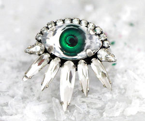 cocktail ring, eye, and ring image