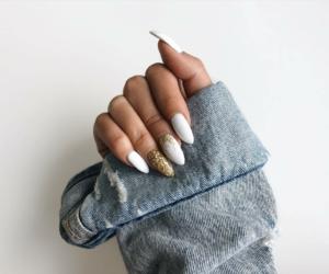 nails and denim image