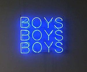 blue, boys, and grunge image