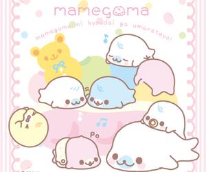 mamegoma, kawaii, and wallpaper image