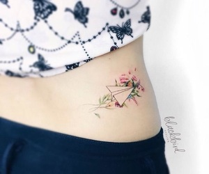 tattoo, lines, and tatto image