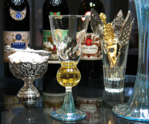 fountain, spoon, and absinthe image