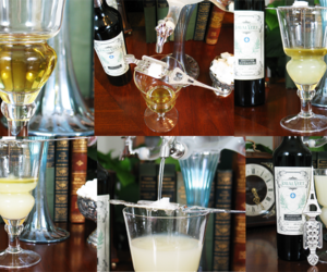 absinthe, glass, and spoon image
