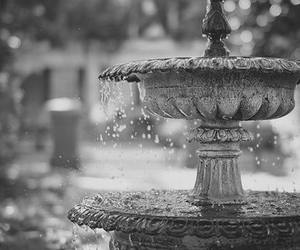 water, fountain, and photography image