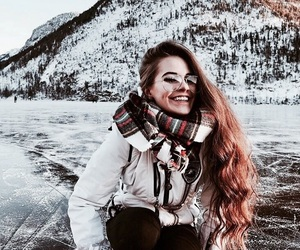 winter, cold, and girl image